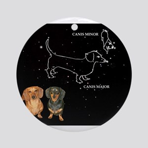 Canis Major Ornament (Round)