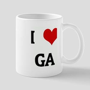 I Love GA Mug