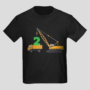 2nd Birthday Construction T-Shirt