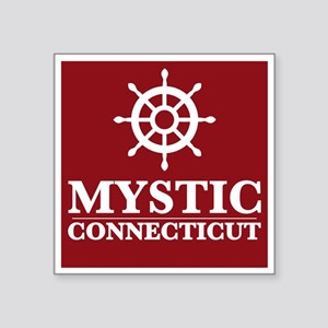 Mystic Connecticut Sticker