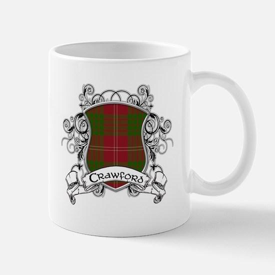 Crawford Tartan Shield Mug