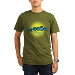 PEACE Glo CC Organic Men's T-Shirt (dark)