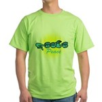 PEACE Glo CC Green T-Shirt