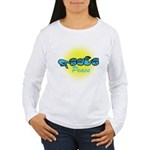 PEACE Glo CC Women's Long Sleeve T-Shirt