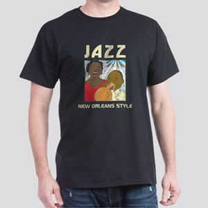 JAZZ Black T-Shirt