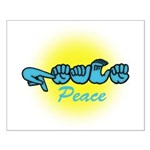 PEACE Glo CC Small Poster