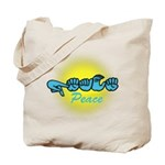 PEACE Glo CC Tote Bag