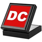 DC (Red and White) Keepsake Box