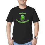 Happy St. Pat's Men's Fitted T-Shirt (dark)