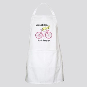 Ride Like A Girl BBQ Apron