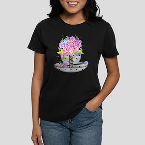 Birth Flower/Gem April Women's T-Shirt