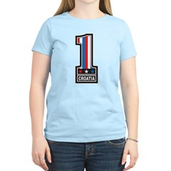 Number One Croatia Women's Light T-Shirt