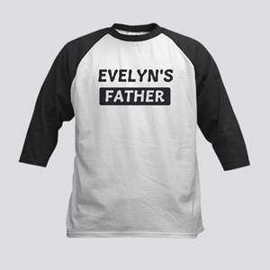 Evelyns Father Kids Baseball Jersey