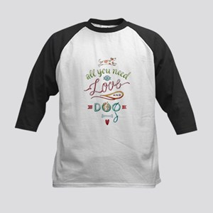 All you need is LOVE and a Dog Baseball Jersey