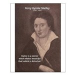 Poet Percy Shelley: Beautiful Distortion Print