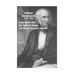 William Wordsworth Poetry Poster: Wisdom of Nature