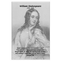 Shakespeare's Juliet & Sonnet: Darling Buds of May