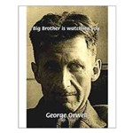 Writer George Orwell: 1984 Big Brother Posters
