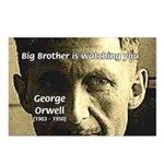 Orwell Big Brother 1984 Postcards (Package of 8)