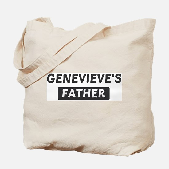 Genevieves Father Tote Bag