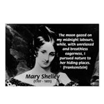 Mary Shelley Frankenstein Postcards (Package of 8)