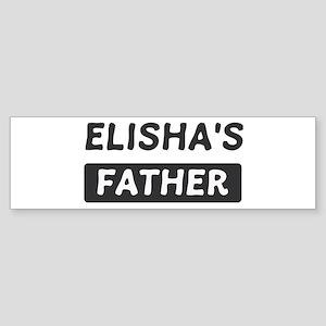 Elishas Father Bumper Sticker