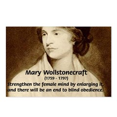 Mary Wollstonecraft Postcards (Package of 8)