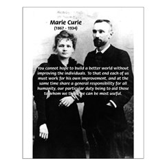 Scientist Marie Curie: Improvement of Individual