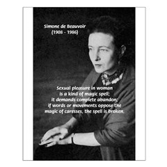 Female Philosopher Simone De Beauvoir: Sex Magic