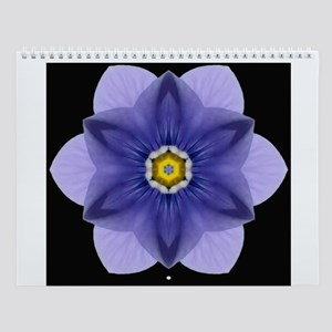 Blue Pansy I Wall Calendar