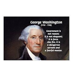 Politics: George Washington Postcards (Package of