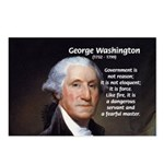 Politics: George Washington Postcards (Package of
