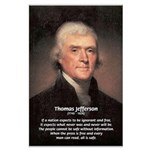 Media Thomas Jefferson Large Posters