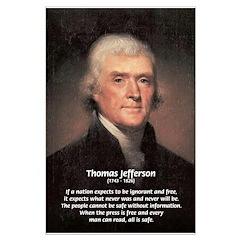 Media Thomas Jefferson Large Posters