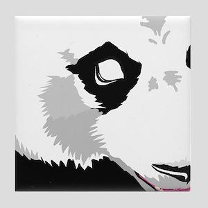 Panda Wall Mural (9pc) Tile Coaster