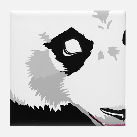 Panda Wall Mural (9pc) Tile Coaster