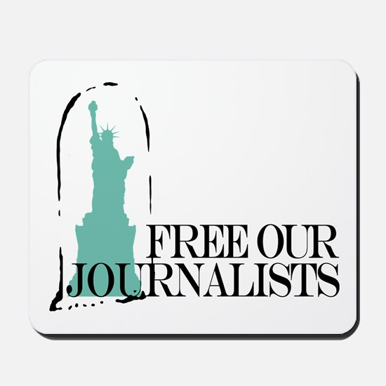 Free Our Journalists Mousepad