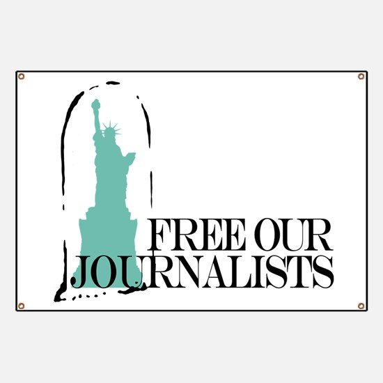 Free Our Journalists Banner