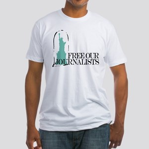 Free Our Journalists Fitted T-Shirt