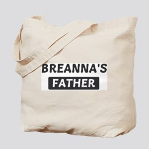 Breannas Father Tote Bag