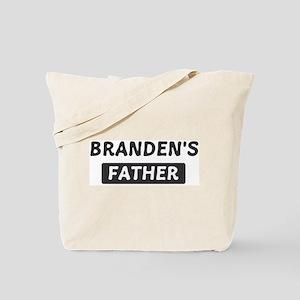 Brandens Father Tote Bag