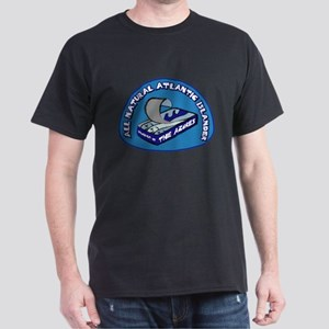 Azores Atlantic Islander Sardine Black T-Shirt