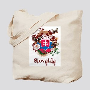 Butterfly Slovakia Tote Bag