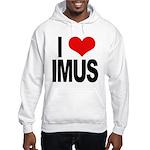 I Love Imus Hooded Sweatshirt