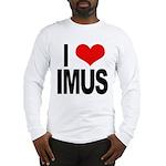 I Love Imus Long Sleeve T-Shirt