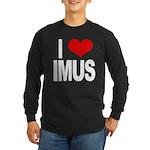 I Love Imus Long Sleeve Dark T-Shirt