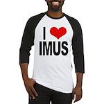 I Love Imus Baseball Jersey