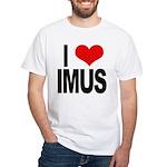 I Love Imus White T-Shirt