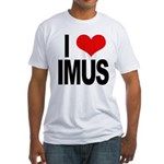 I Love Imus Fitted T-Shirt