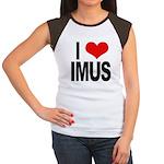 I Love Imus Women's Cap Sleeve T-Shirt